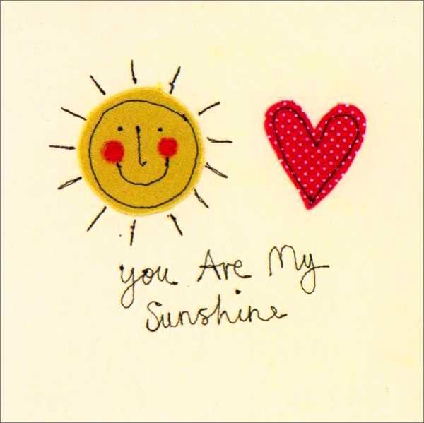 CARD-YOU ARE MY SUNSHINE