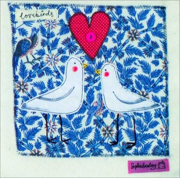 CARD-LOVEBIRDS