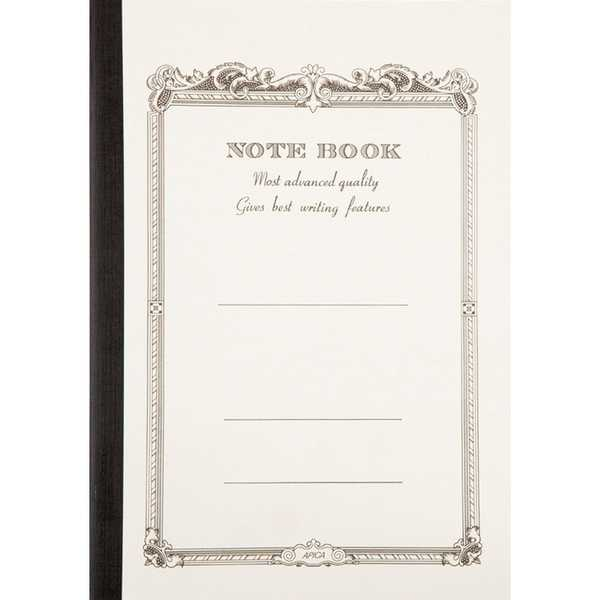 CD Notebook-A4 Lined White
