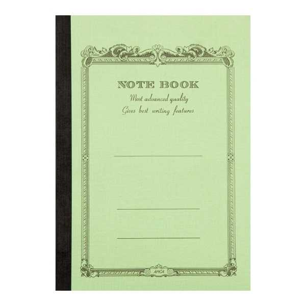 CD NOTEBOOK-B5 LINED GREEN