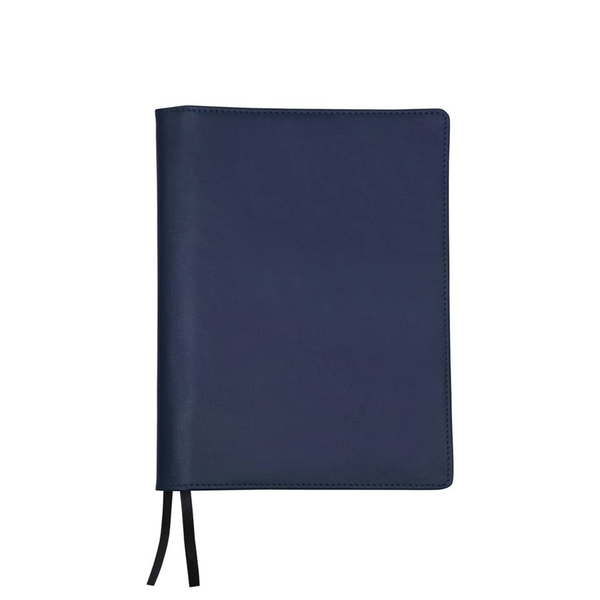 A6 NOTEBOOK & LEATHER JACKET-NAVY