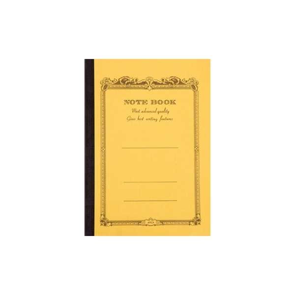 CD NOTEBOOK-A6 LINED MUSTARD