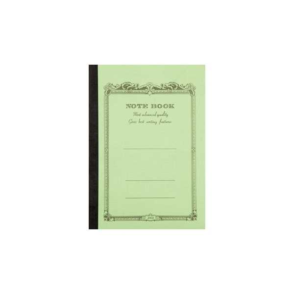CD NOTEBOOK-B7 LINED GREEN